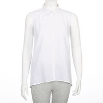 George Women's Linen Blend Blouse White XL/TG