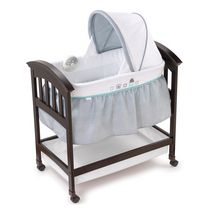 Summer Infant Classic Comfort Wood Bassinet-Turtle Tale