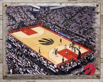 NBA Toronto Raptors Landscape Stadium Canvas