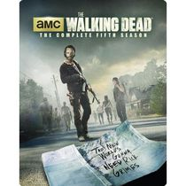 The Walking Dead: The Complete Fifth Season (Steelbook) (Blu-ray + Digital HD) (Bilingual)