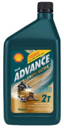 Shell Advance Snow Ultra High Performance Synthetic Snowmobile Oil