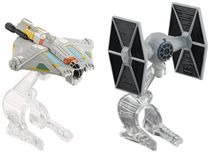 Hot Wheels Star Wars Tie Fighter vs. Ghost Vehicle - 2 Pack