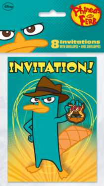 Phineas & Ferb Invitations