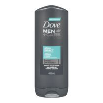 Dove Men +Care®  Aqua Impact Micro Moisture Body + Facewash 400ml