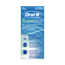 Soie dentaire Super Floss d'Oral-B
