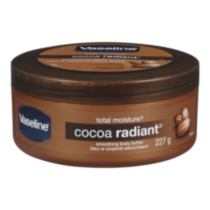 Vaseline® Intensive Care Cocoa Radiant Smoothing Body Butter with Pure Cocoa Butter