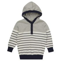 George British Design Toddler Boys' Striped Knitted Hoody 4T