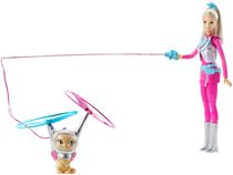 Poupée Barbie des étoiles et Chat volant Star Light Adventure de Barbie