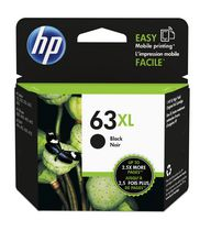 HP 63XL High Yield Black Original Ink Cartridge - F6U64AN