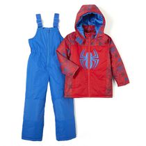 Disney Boys' Spider-Man Snowsuit 4