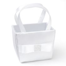 Gartner Studios Simple Bow Flower Girl Basket