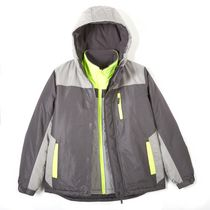 Athletic Works Boys' 3-in-1 Jacket L/G