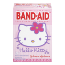 Pansements adhesifs de maeque BAND-AID Hello Kitty Assortis 20 u.