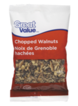Great Value Chopped Walnuts