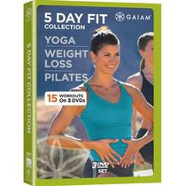 5 Day Fit Collection: Yoga / Weight Loss / Pilates