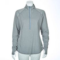 Athletic Works Women's ¼ Zip Top Gray XS/TP