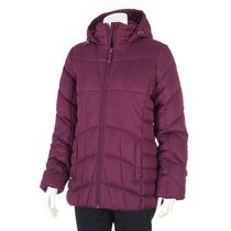 George Women's Fleece-lined Puffer Parka Purple S/P