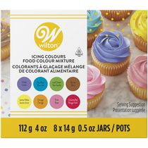 Assortiment de colorants à glacage couleurs