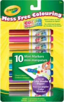 Crayola Color Wonder™ 10 Mini Markers