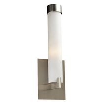 Icarus 1-Light Satin Nickel Flush-to-Wall Sconce