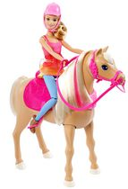 Cheval de danse de Barbie