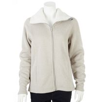 George Plus Women's Bonded Fleece Jacket Grey 1x