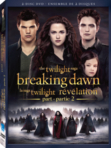 Twilight Saga - Breaking Dawn - Part 2 DVD