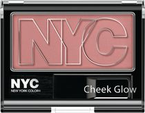 NYC New York Color Cheek Glow Blush Powder West Side Wine