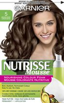 Garnier Nutrisse Mousse Nourishing Colour Foam Haircolour Medium Brown