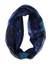 George Women's Light Weight Floral Print Infinity Loop Scarf