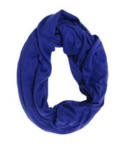 George Women's Jersey Knit Infinity Loop Scarf Deep Blue