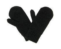 George Women's Chenille Mitten Black