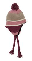 George Women's Chenille Striped Helmet Hat Pink