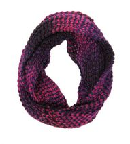 George Women's Space Dye Infinity Scarf Purple