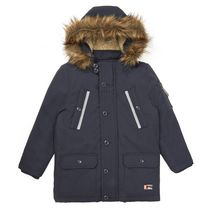 George British Design Boys' Navy Parka 7