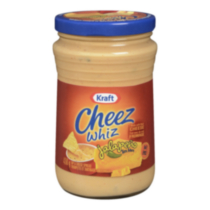 Cheez Whiz Jalapeño Tex Mex Cheese Spread