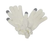 George Women's Touch Capability Magic Gloves Ivory