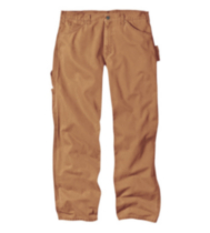 BGU202 Genuine Dickies Duck Carpenter Work Pant Brown 36x34