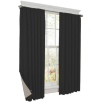 Prima Thermal Shield Energy Saving Curtain Black