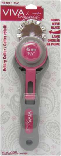 Viva Infinite rotary cutter with 45mm blade