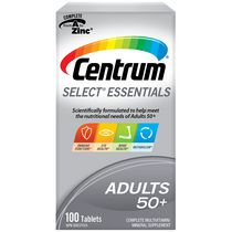 Centrum Select Essentials Adults 50+ Complete Multivitamin and Mineral Supplement