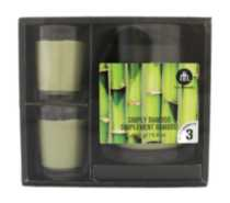 3-Piece Scented Candle Gift Set Simply Bamboo