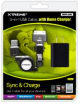 XTREME USB 3-in-1 Cable