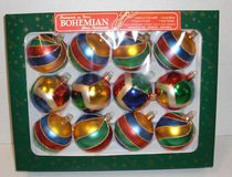 12 Pack Ornament Balls