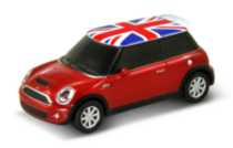 Autodrive 8GB Mini Cooper USB Flash Drive RED/UK FLG