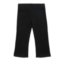 George OPP Girls' Fleece Pants - Black 4T