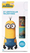 Cartes de Saint-Valentin lenticulaires « Minions » de Paper Magic