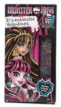 Cartes de Saint-Valentin lenticulaires « Monster High » de Paper Magic