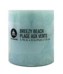 "3x3"" Scented Pillar Breezy Beach"