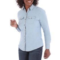 Riders by Lee Women's Casual Woven Shirt L